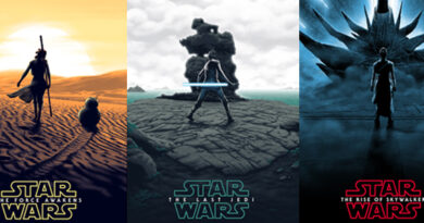 Star Wars sequel trilogy posters