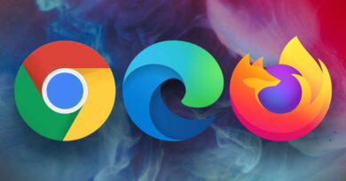 Edge Firefox browser mercado Chrome